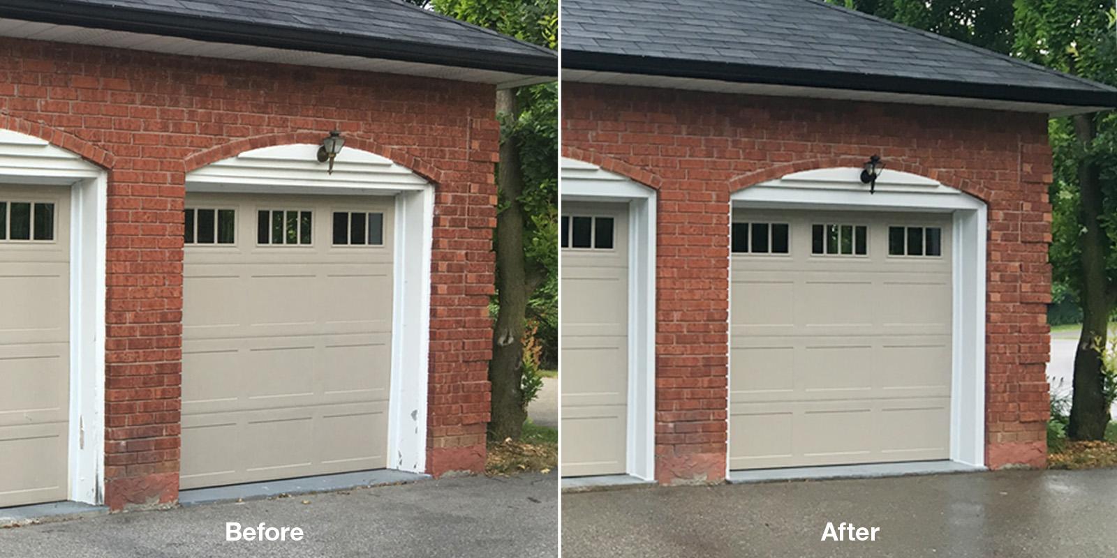 Garage Door Siding & Capping