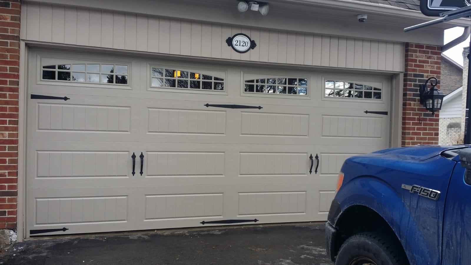 Garage Doors Installation near toronto Milton oakville mississauga